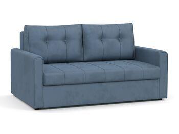 Диван-кровать Лео арт. ТД-361 серо-синий