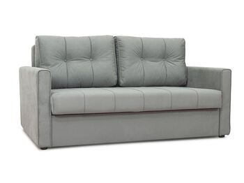 Диван-кровать Лео арт. ТД-362 серебристый серый