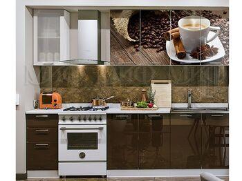 Кухня фотопечать Кофе 2,0 м