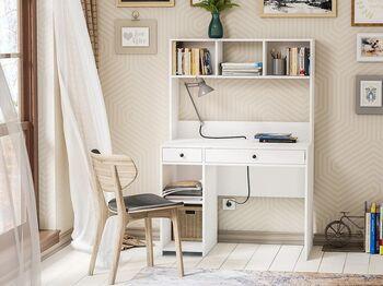 Стол компьютерный Комфорт 12.77 Белый