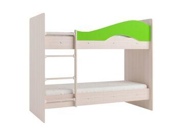 Двухъярусная кровать Мая дуб зеленый