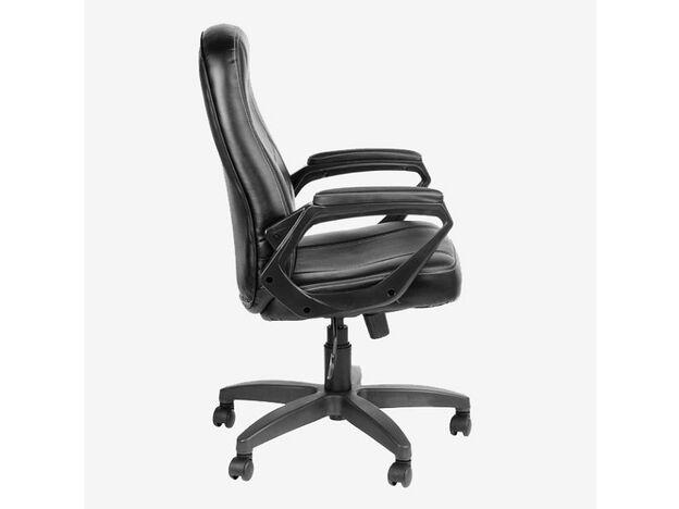 Кресло Амиго 511 ультра кожзам черный