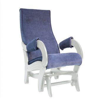 Кресло-глайдер модель 708 Verona Denim blue дуб шампань