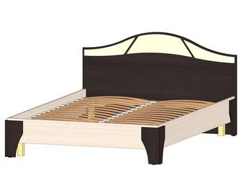Кровать 1400 Верона венге-дуб молочный