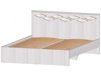 Кровать 1600 Диана анкор светлый