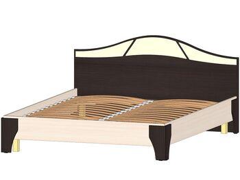 Кровать 1600 Верона венге-дуб молочный
