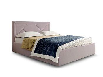 Кровать Сиеста вариант 1 Розовый велюр
