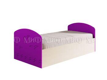 Кровать Юниор-2 МДФ ШхВхГ 840х650х2030 мм  Спальное место 800х2000 мм