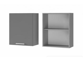 Шкаф 1-дверный 6В1 МДФ ШхВхГ 600х720х310 мм