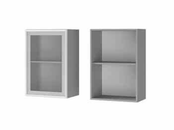 Шкаф 1-дверный со стеклом 5В2 МДФ ШхВхГ 500х720х310 мм