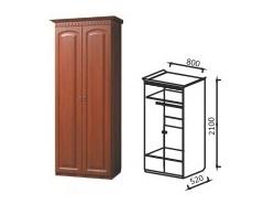 Шкаф 2-х дверный для платья Гармония-4