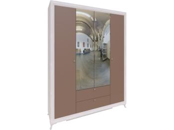 Шкаф 4-х дверный Саванна М01 ШхВхГ 1740х2300х510 мм