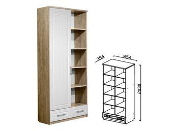 Шкаф для детских вещей комбинированный ЮН-3 Юниор-7