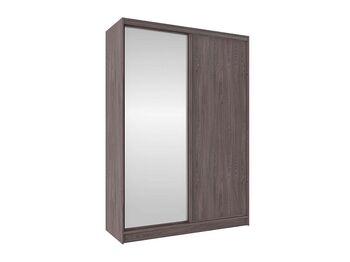 Шкаф-купе Домашний с зеркалом 1600 Анкор темный