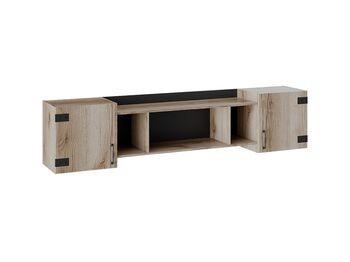 Шкаф навесной Окланд ТД-324.12.21 ШхВхГ 2048х460х340 мм