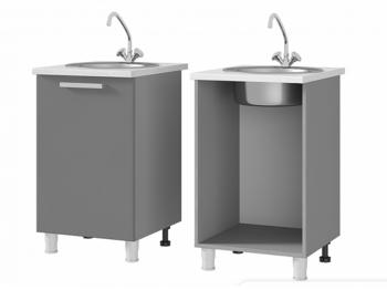 Шкаф-стол под мойку 5М1 МДФ ШхВхГ 500х820х600 мм