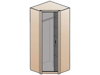 Шкаф угловой 1 дверный Шер ШК-2321 дуб серый
