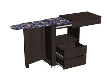Стол с гладильной доской большой Венге