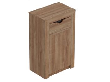 Тумба с дверцей и ящиком Соренто Дуб стирлинг