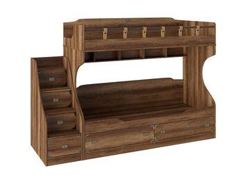 Кровать 2-х ярусная с приставной лестницей Навигатор СМ-250.11.12