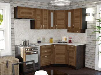 Гарнитур кухонный Кира Литл угловой 1300х2000