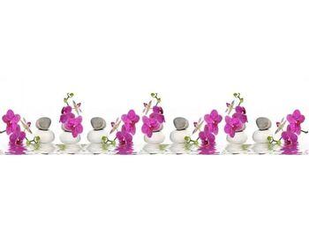 Стеновая панель с фотопечатью Орхидея