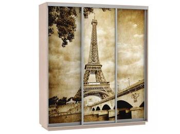Шкаф-купе 3-х дверный Трио Фото Париж