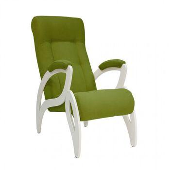Кресло для отдыха Весна модель 51 Verona-apple-green дуб шампань
