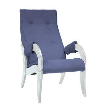 Кресло для отдыха модель 701 Verona Denim blue дуб шампань