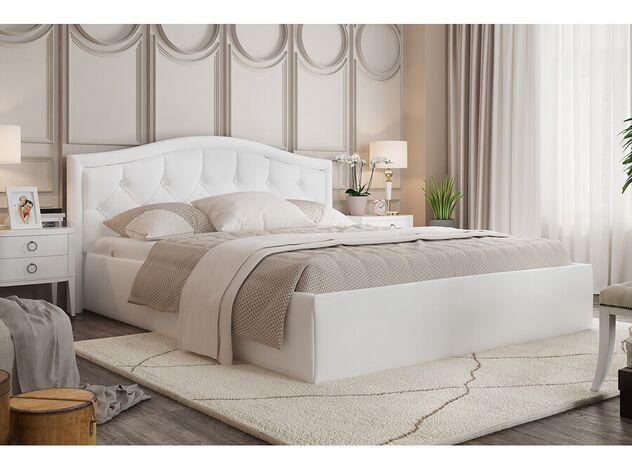Кровать Стелла белая