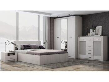 Спальня модульная Ривьера анкор светлый